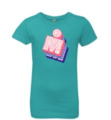 IRONMAN GIRLS TRICOLOR GRAPHIC TEE