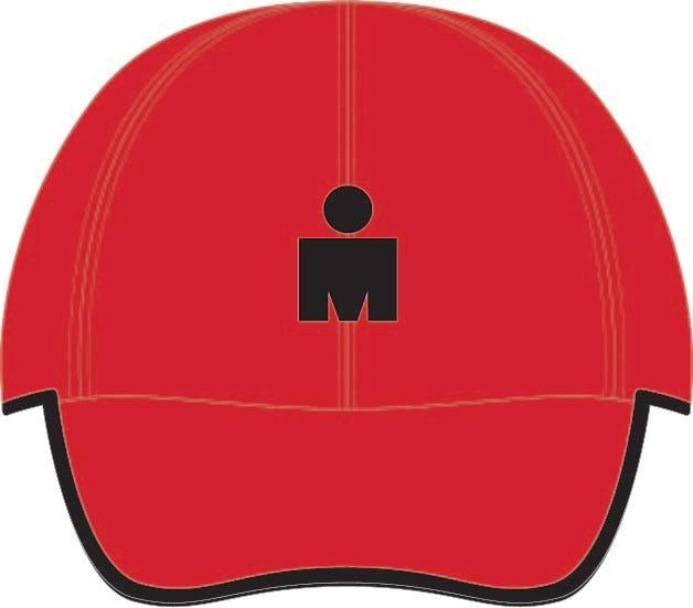 IRONMAN MDOT Elite Tech Hat - Red
