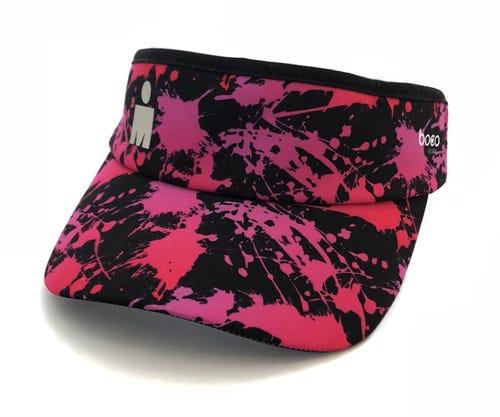 IRONMAN MDOT Splatter Visor - Black/Pink