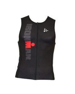IRONMAN Craft Men's Tri Top- Black/Red