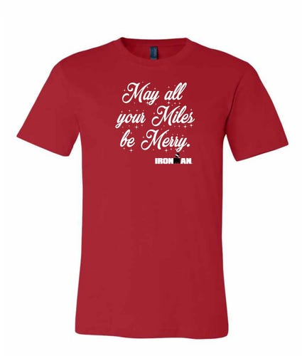 IRONMAN Men's Christmas Tee - Red