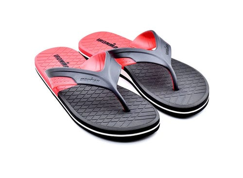 IRONMAN Men's Kai Flip Flop-Red