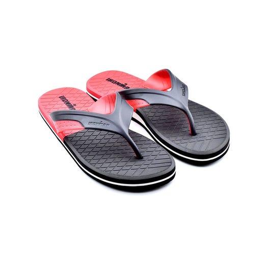 IRONMAN Men's Kai Flip Flop-Red