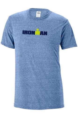 IRONMAN Men's Snow Yarn Logo Tee