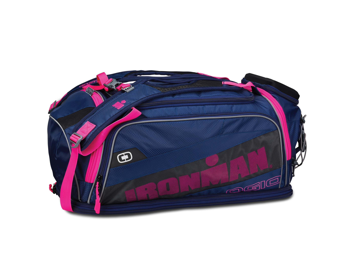 IRONMAN Ogio 8.0 Duffel Bag- Navy/Pink