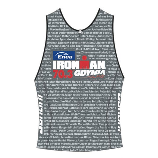 IRONMAN 70.3 GDYNIA 2019 MEN'S NAME TRI TOP