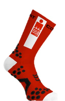 IRONMAN CompresSport Pro Racing Socks Bike - Red