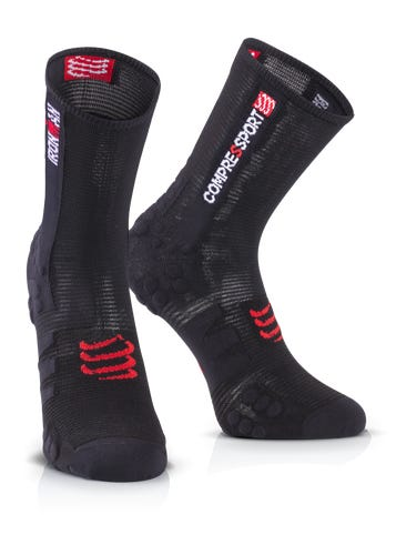 IRONMAN COMPRESSPORT Pro Racing Socks Bike - Black
