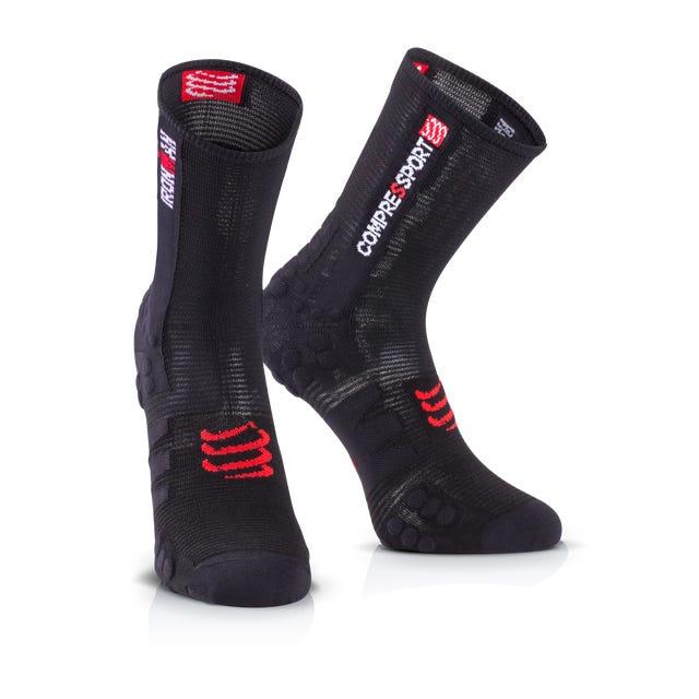 IRONMAN COMPRESSPORT Pro Racing Socks Bike - Black