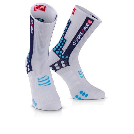 IRONMAN COMPRESSPORT Pro Racing Socks Bike - Blue