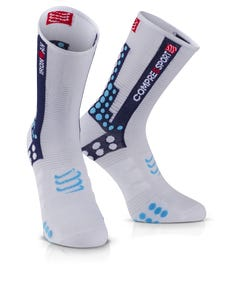 IRONMAN COMPRESSPORT Pro Racing Socks Bike - Blue