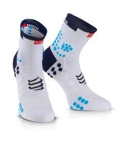 IRONMAN COMPRESSPORT Pro Racing Socks V3 Run High - Blue
