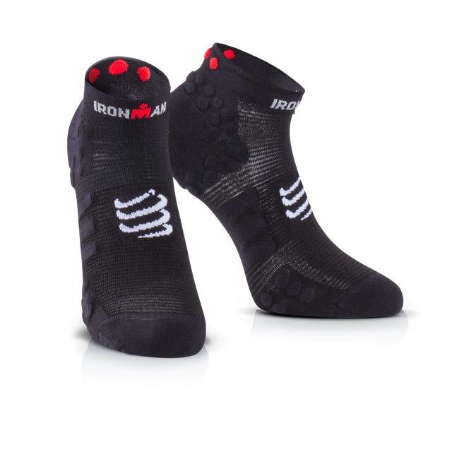 IRONMAN COMPRESSPORT Pro Racing Socks V3 Run Low - Black