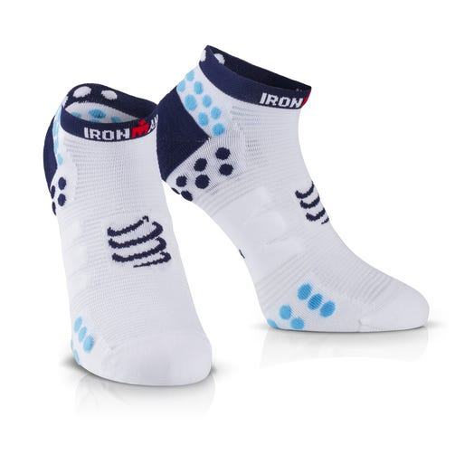 IRONMAN COMPRESSPORT Pro Racing Socks V3 Run Low - Blue