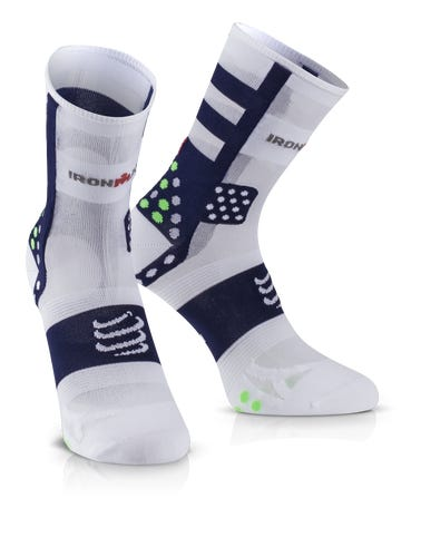IRONMAN COMPRESSPORT Pro Racing Socks V3 Ultralight High - Blue