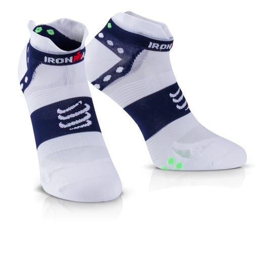 IRONMAN COMPRESSPORT Pro Racing Socks V3 Ultralight Low - Blue
