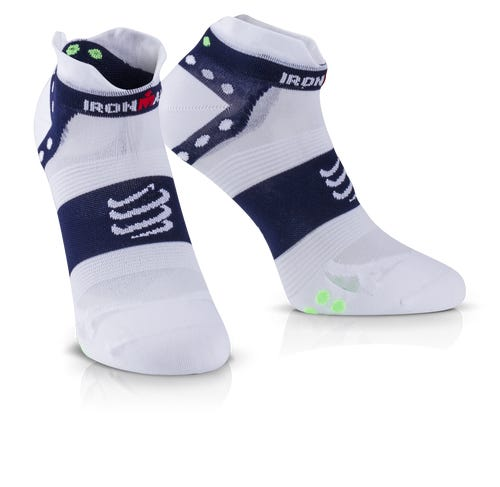 IRONMAN COMPRESSPORT Pro Racing Socks V3 Ultralight Low - Blue