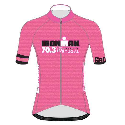 IRONMAN 70.3 CASCAIS PORTUGAL 2019 WOMEN'S NAME CYCLE JERSEY
