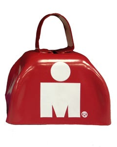 IRONMAN MDOT Cowbell - Red