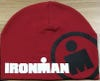 IRONMAN CIRCLE MDOT BEANIE - RED