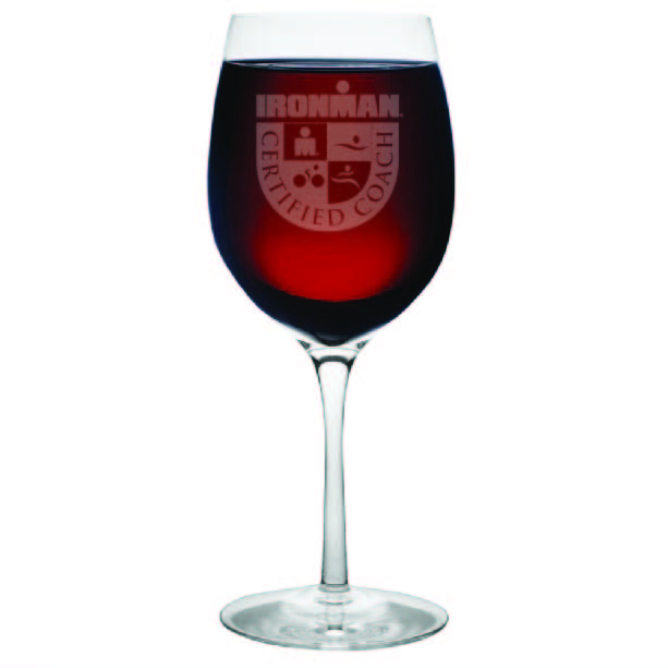 IRONMAN Customized Certified Coach Wine Glass