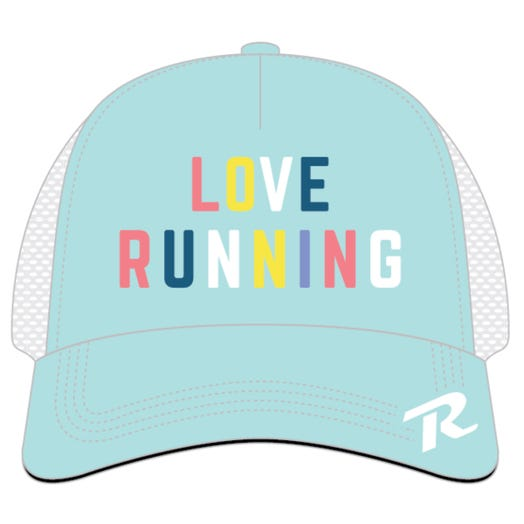 ROCK N ROLL MARATHON SERIES LOVE RUN TRUCKER