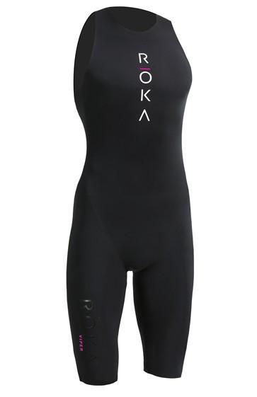 IRONMAN ROKA Women's Viper Pro Swimskin - Black