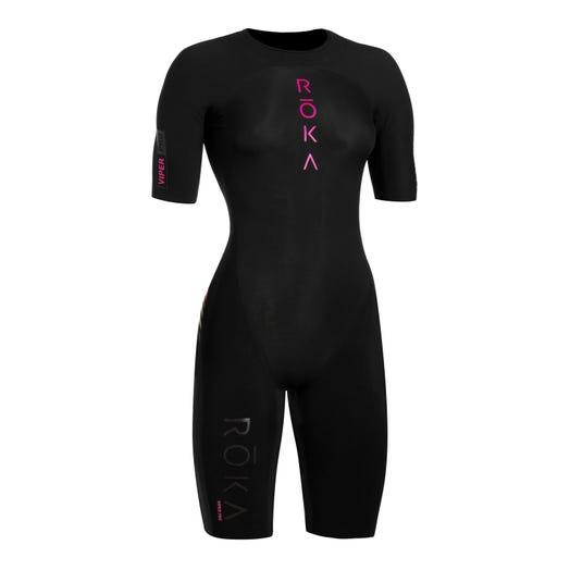 IRONMAN ROKA Women's Viper Pro Short Sleeve Swimskin