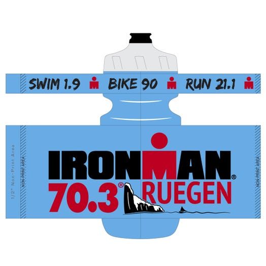 IRONMAN 70.3 Ruegen 2019 Event Water Bottle Color