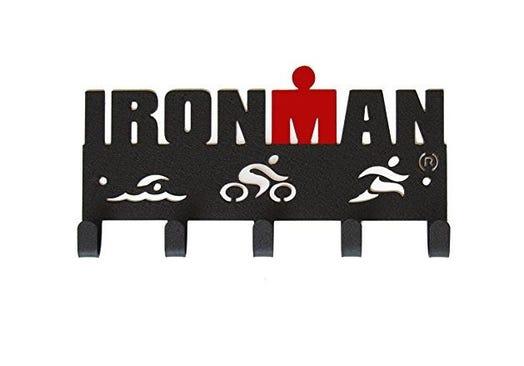 IRONMAN Swim Bike Run Medal Hanger - 5 Hooks