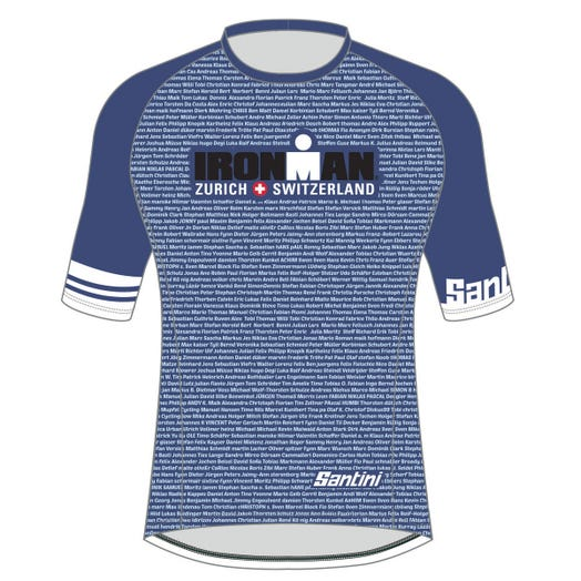 IRONMAN SWITZERLAND 2019 WOMEN'S PERFORMANCE NAME TEE