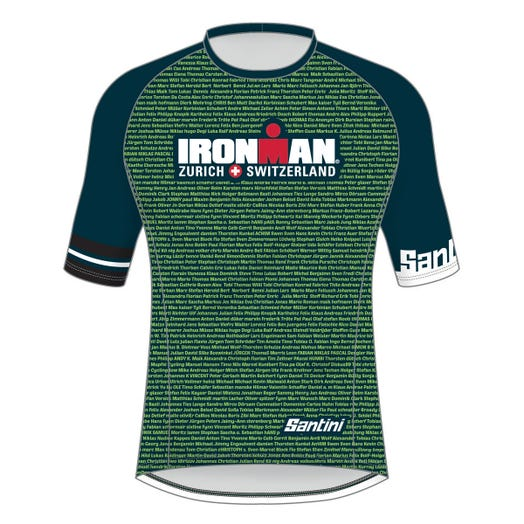 IRONMAN SWITZERLAND 2019 MEN'S PERFORMANCE NAME TEE