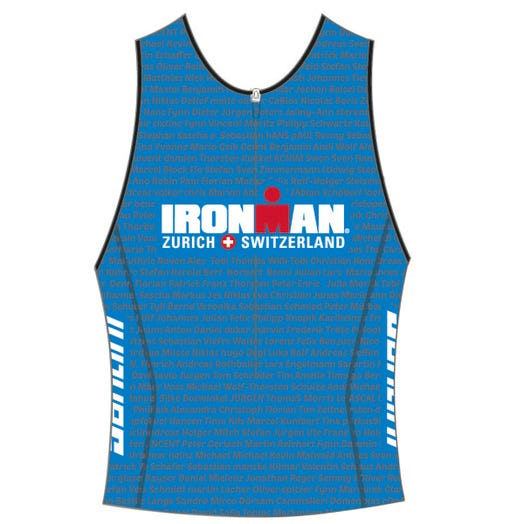IRONMAN SWITZERLAND 2019 MEN'S NAME TRI TOP