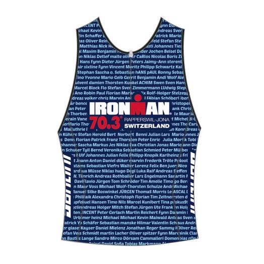 IRONMAN 70.3 SWTIZERLAND MEN'S NAME TRI TOP