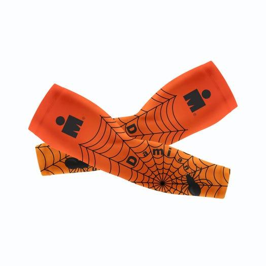 IRONMAN Custom Arm Sleeves - Halloween Spider Web