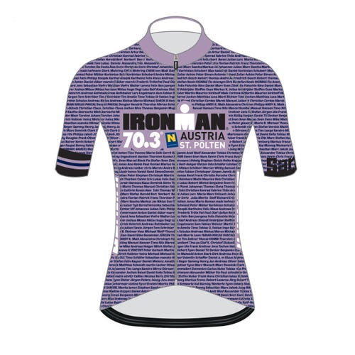 IRONMAN 70.3 ST. POLTEN WOMEN'S NAME CYCLE JERSEY
