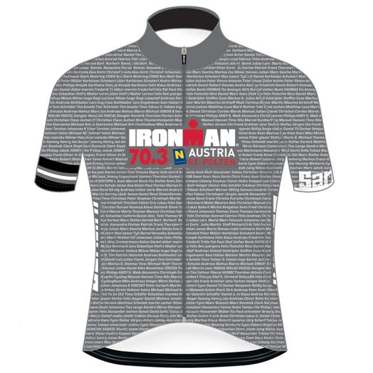 IRONMAN 70.3 ST. POLTEN MEN'S NAME CYCLE JERSEY