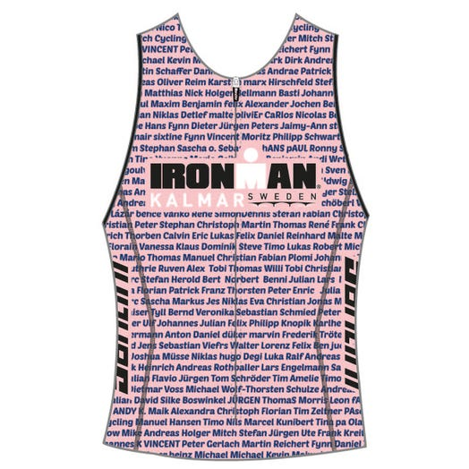 IRONMAN SWEDEN 2019 WOMEN'S NAME TRI TOP