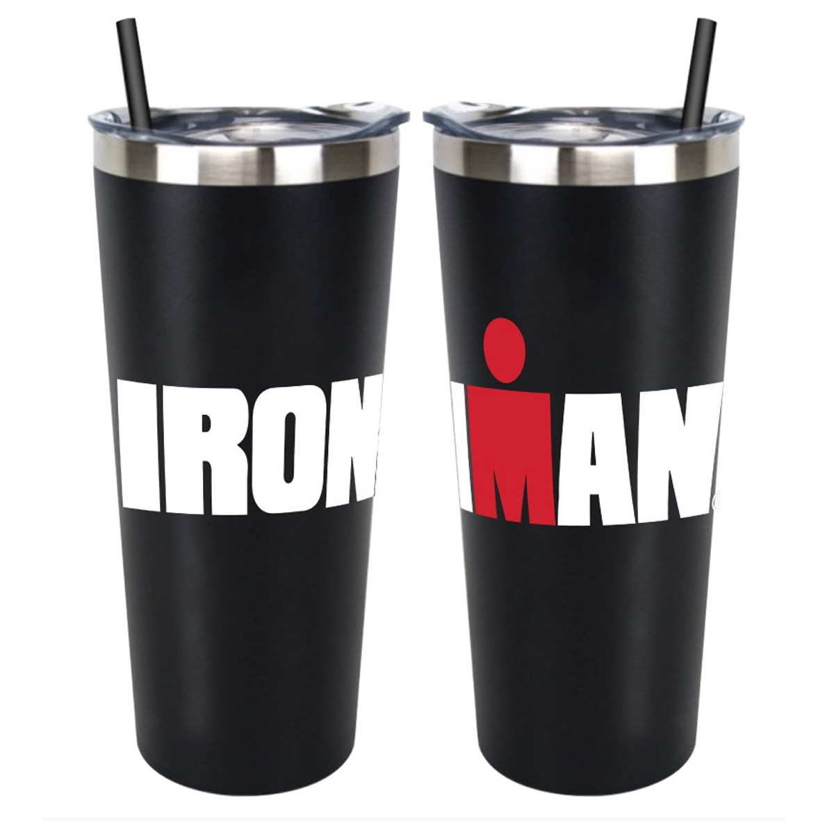 IRONMAN TALL TUMBLER-BLACK