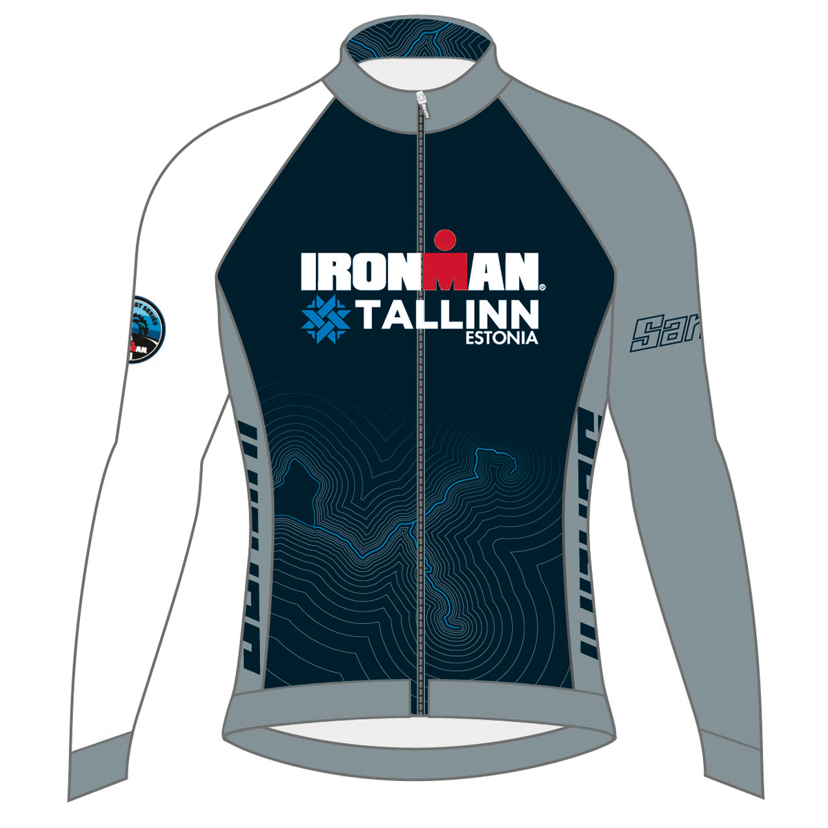 IRONMAN TALLINN 2019 MEN'S FINISHER COURSE CYCLE JERSEY