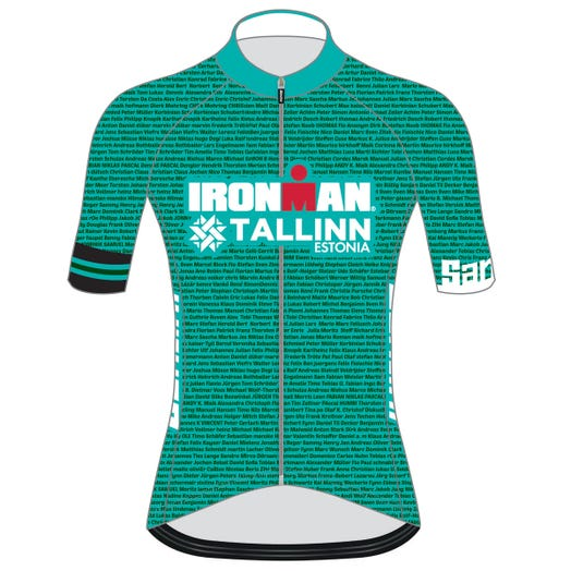 IRONMAN TALLINN 2019 WOMEN'S NAME CYCLE JERSEY