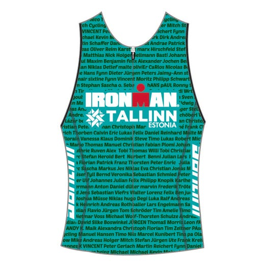 IRONMAN TALLINN 2019 WOMEN'S NAME TRI TOP