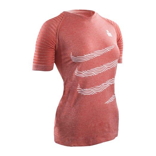 IRONMAN COMPRESSPORT Women's Training Tee - Pink