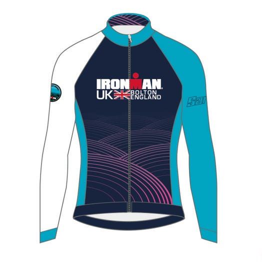 IRONMAN UK 2019 WOMEN'S FINISHER COURSE CYCLE JERSEY