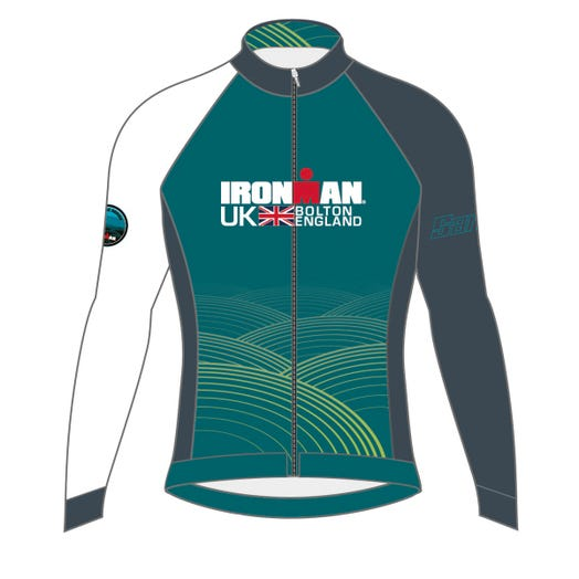 IRONMAN UK 2019 MEN'S FINISHER COURSE CYCLE JERSEY