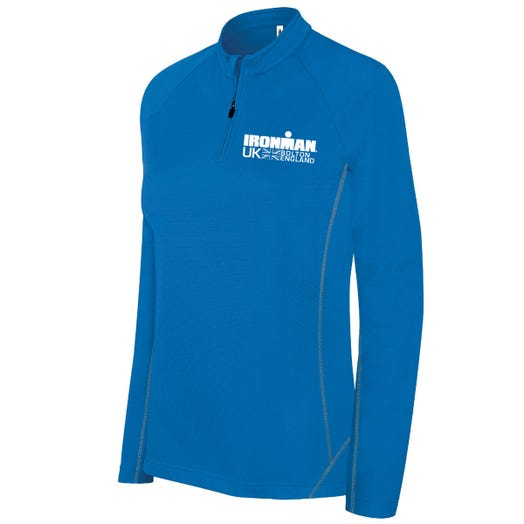 IRONMAN UK WOMEN'S HALF ZIP