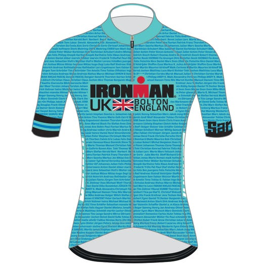 IRONMAN UK 2019 WOMEN'S' NAME CYCLE JERSEY