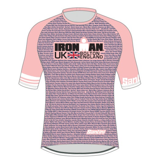 IRONMAN UK 2019 WOMEN'S PERFORMANCE NAME TEE