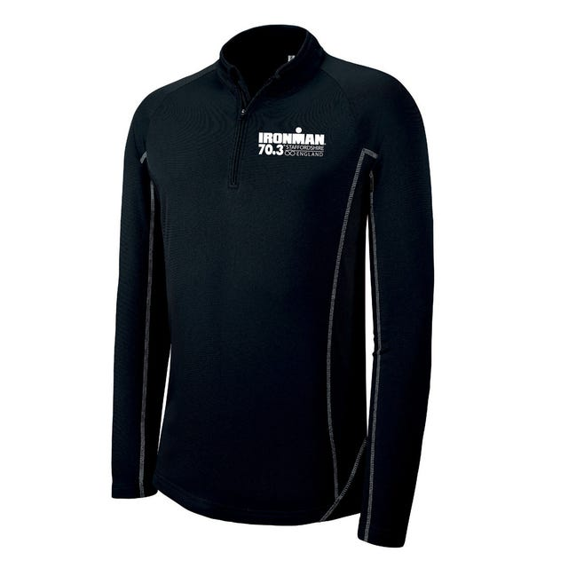 IRONMAN 70.3 STAFFORDSHIRE MEN'S HALF ZIP