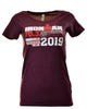 IRONMAN 70.3 STAFFORDSHIRE 2019 WOMEN'S V-NECK NAME TEE